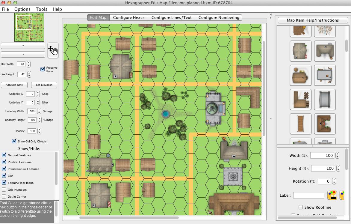 Fantasy Town Map Generator