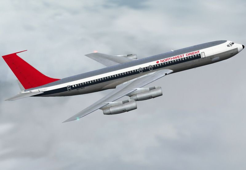 Northwest Orient Boeing 707 320b One Of The All Time Great Jetliners Boeing Aircraft Vintage Aircraft Vintage Aviation