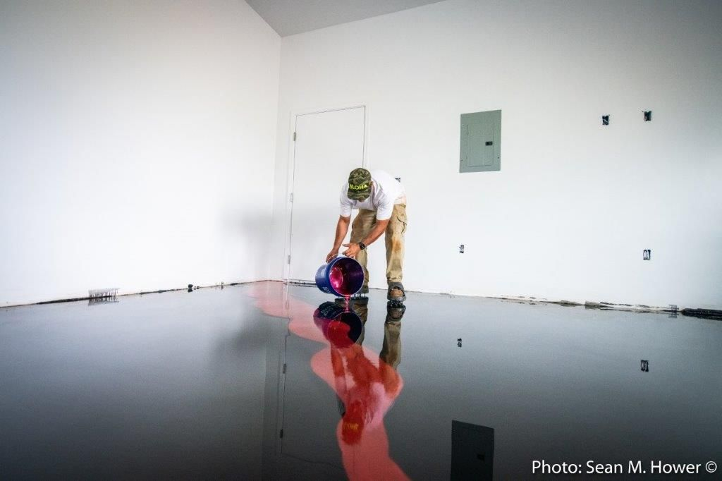 Epoxy flooring that looks like lava in 2020 epoxy