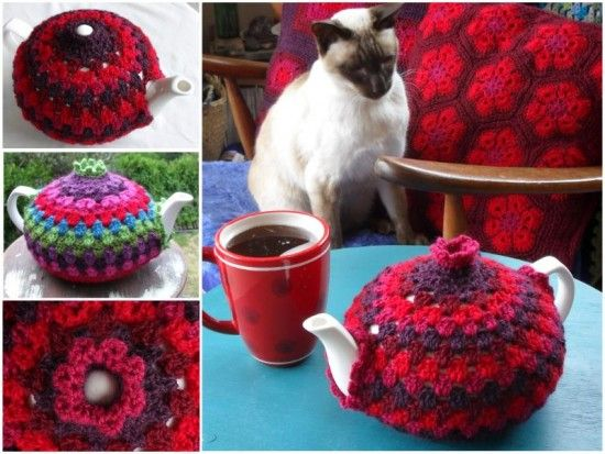 Fairy House Teapot Cosy Pattern Is Gorgeous | Teteras, Patrones y ...