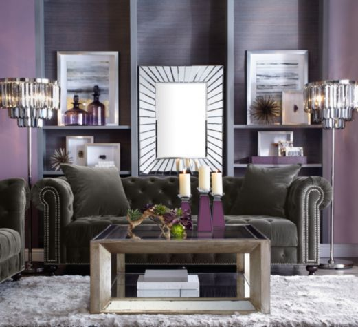 Pascual Coffee Table Mirrored Furniture Furniture Z
