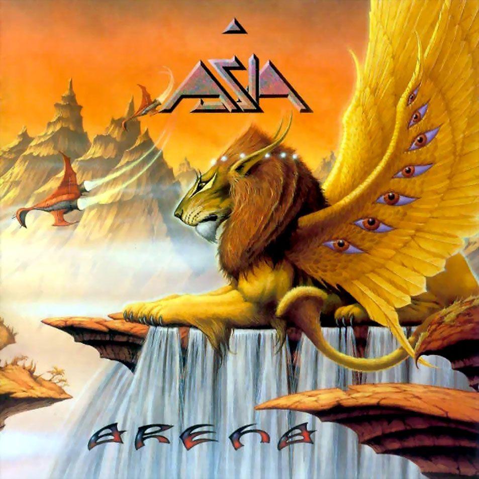Asia 1996 arena with images album cover art