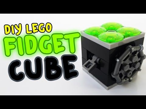 How To Make A Fidget Cube wtih Lego Compatible (DIY) | Kids ...