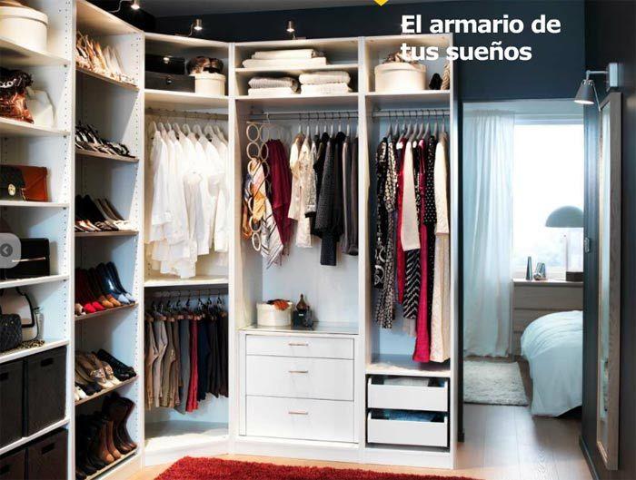 casas, cocinas, mueble: Merkamueble armarios roperos | Closets ...
