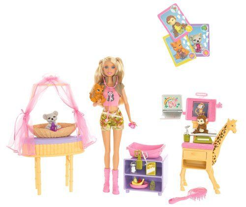 Mattel Barbie I Can Be Zoo Doctor Playset By Mattel 39 99 From