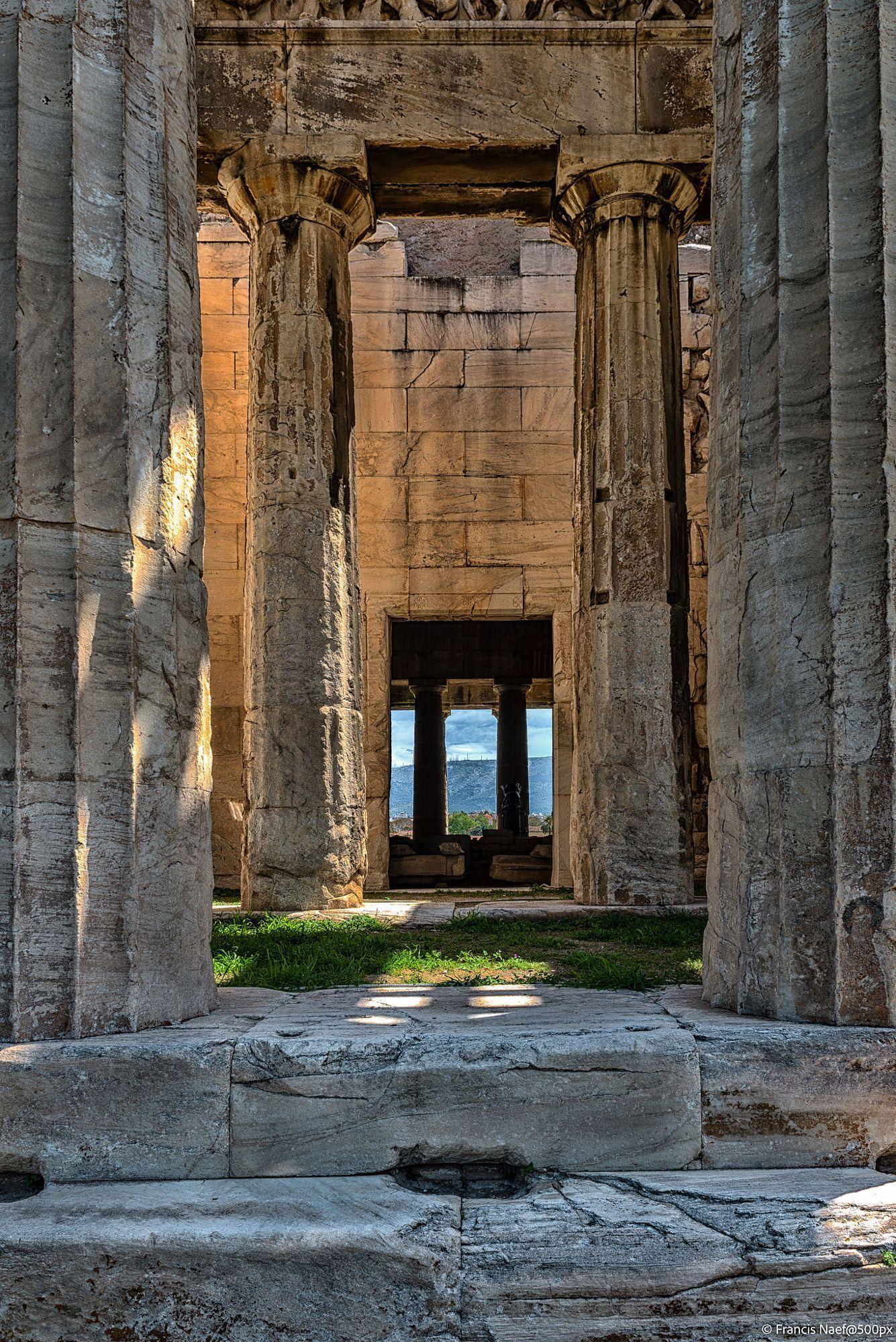 Ancient Agora Athens Greece More Ancient Greek Art Ancient