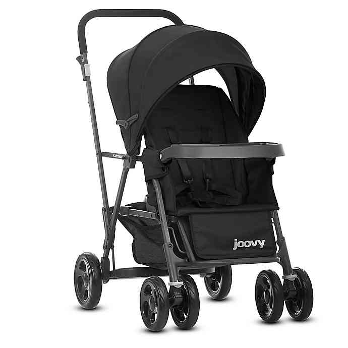 Joovy® Caboose Graphite StandOn Tandem Stroller in Black