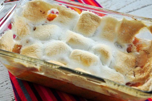 Sweet Potato Yam Casserole With Marshmallows Recipe In 2018