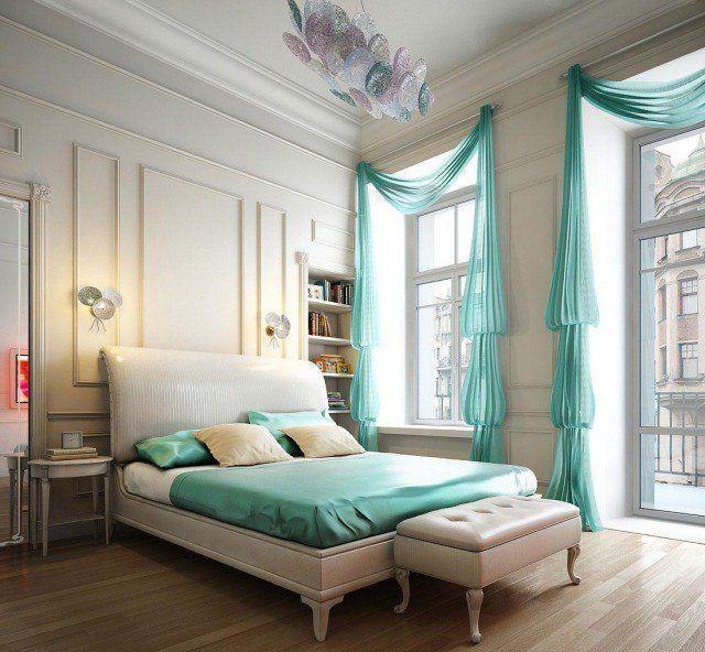 Idee deco chambre coucher look moderne Mobilier de Chambre à