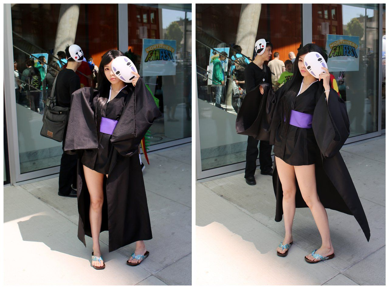 No Face Cosplay Spirited Away Cosplay Cosplaystyle Easy Anime Cosplay