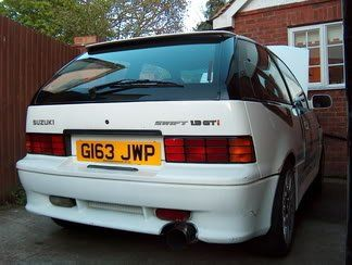 Suzuki #Swift #GTI mk2   my all time urban car favourite
