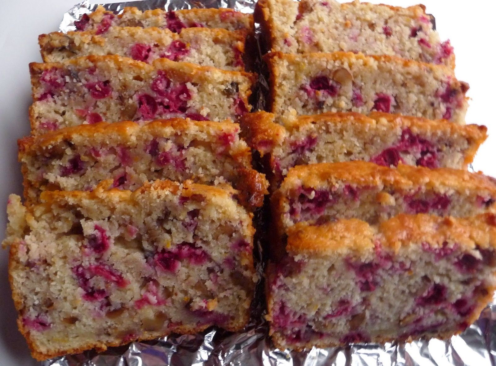 Our Gourmet Recipes: Fresh Cranberry Bread