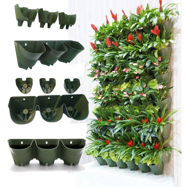 Worth Self Watering Vertical Garden Planterxff0Cgreening Wall Flowerpotxff0Changing Plant Pots