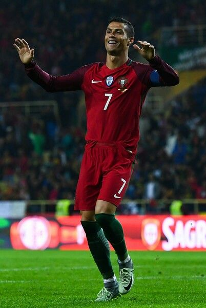 Cristiano Ronaldo Portugal v Andorra - FIFA 2018 World Cup Qualifier on  October 07 708c50937