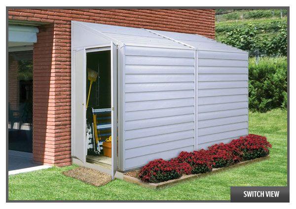 Arrow Yardsaver 4 x 10 Shed   Backyard storage sheds ...