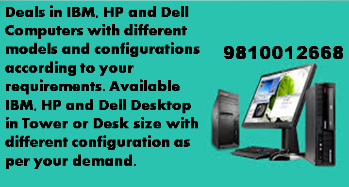 We specialize in providing quality laptop and desktops at