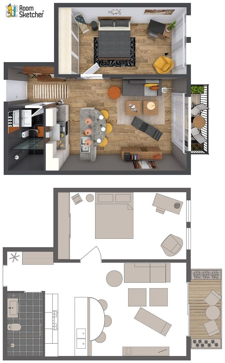 Home Designer | Furniture layout, Small flats and Flats
