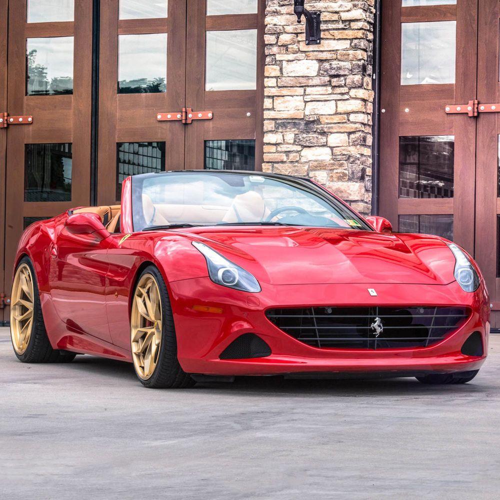 2015 Ferrari California T 2015 Modified California T Rosso Corsa