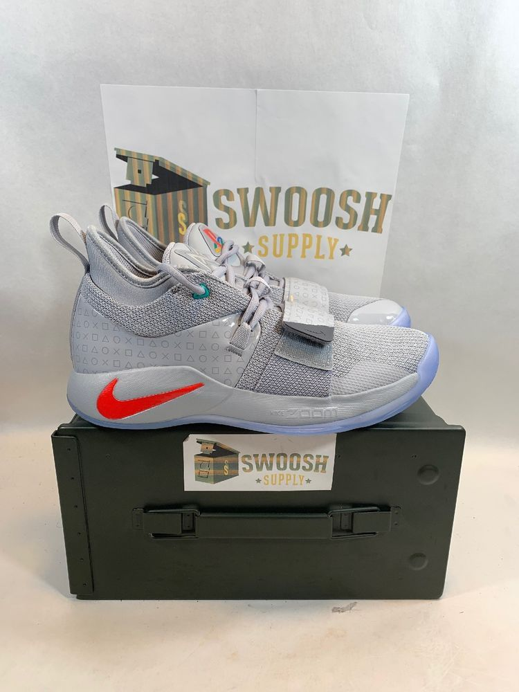 16996346b8bab Nike Paul George Nike PG 2.5 Playstation Wolf Grey BQ8388-001 Men 8 #Nike  #PG25