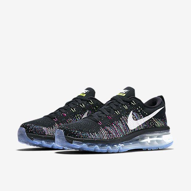 Nike Flyknit Air Max Women s Running Shoe  3d592fa576b1