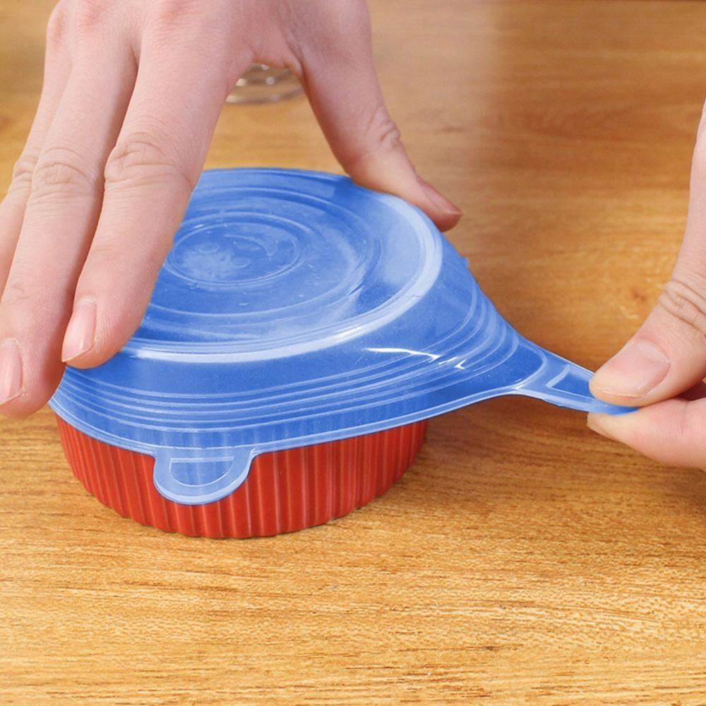 1pcs silicone stretch lids kitchen