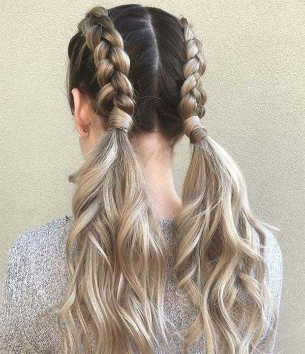 6 penteados fresquinhos para o verão