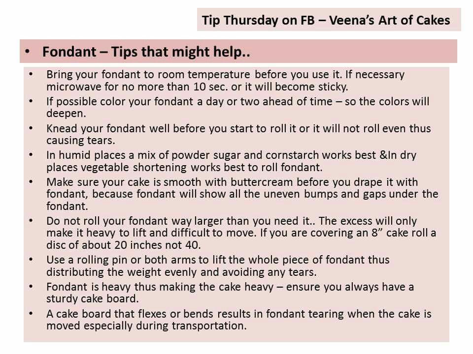 Fondant tips