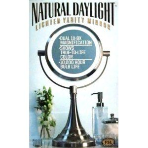 Costco Deal Sunter Natural Daylight Lighted Vanity Mirror