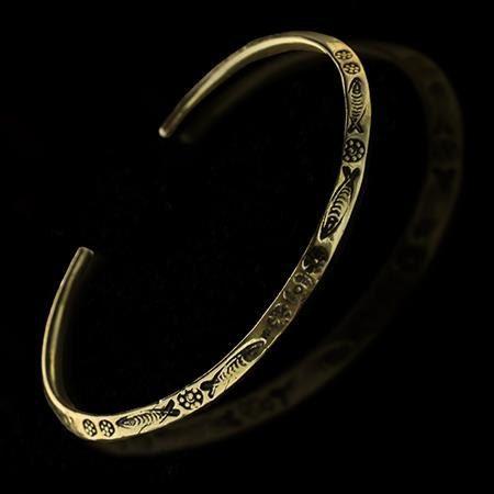 Beautiful+Tribal+Brass+Bracelet++Tribal+Jewelry++by+RONIBIZA,+$25.50