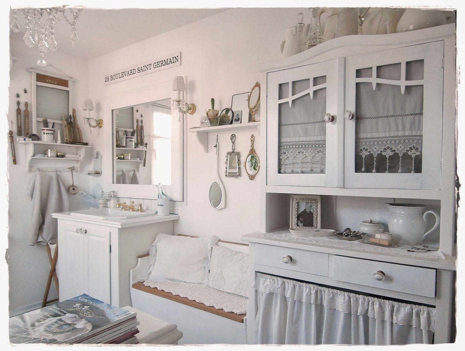 Come Aprire Un Negozio Shabby Chic.Una Romantica Casa Shabby Chic Style In Centro A Vienna Deco Interieure Idee Deco Deco