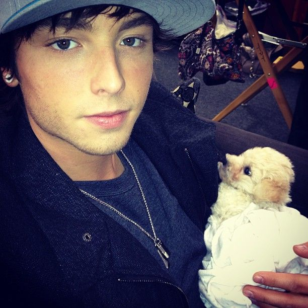 Wes with sampson
