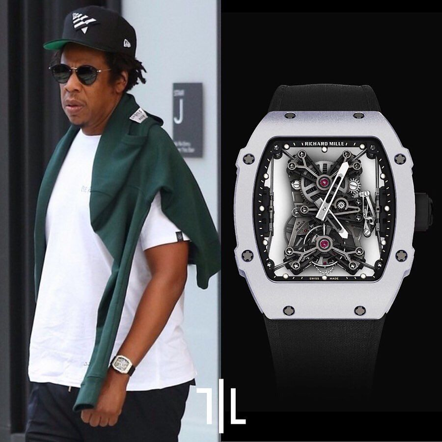 The American Artist And Entrepreneur Jay Z Was Recently Spotted Wearing The Richard Mille Rm 27 01 Rafael Nadal Menswear Richard Mille Luxury Watches For Men