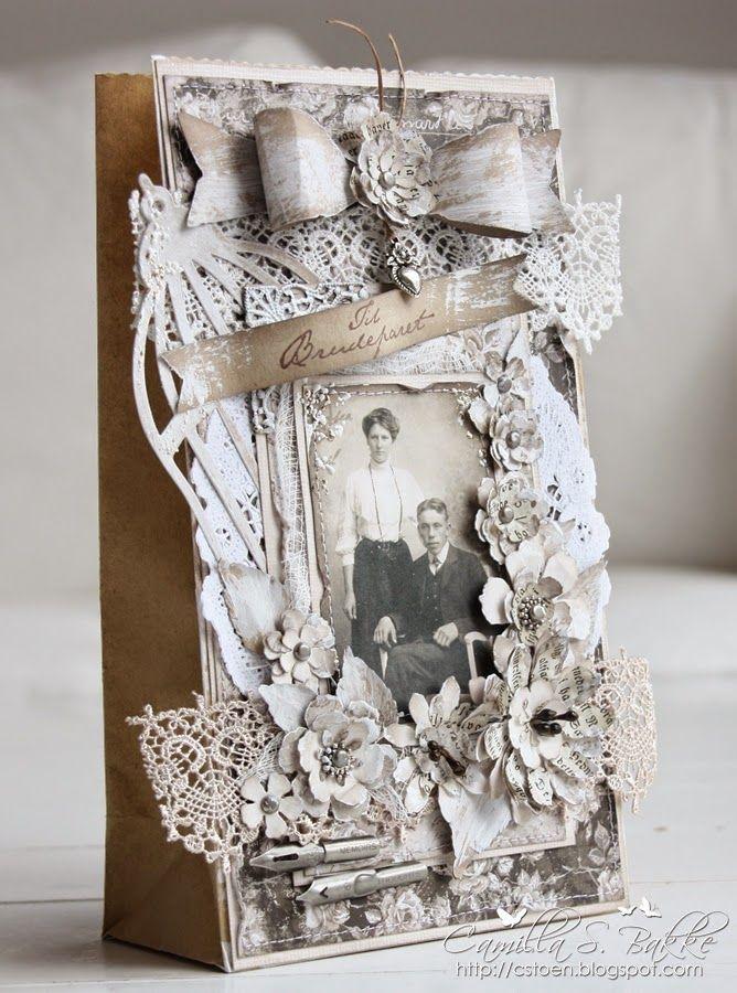 Cards by Camilla: Hjerteboden's utfordring #5 ~ Bryllup ♥ Tekst fra Stempelglede