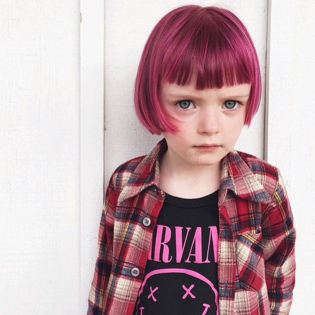 I Think Its So Not Okay Dying Kids Hair But SHE LOOKS SO CUTE