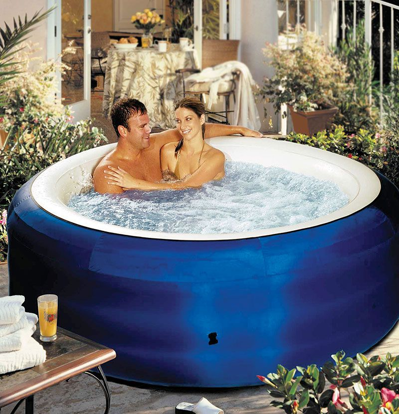 If you don't own a jacuzzi you could get an Inflatable tub