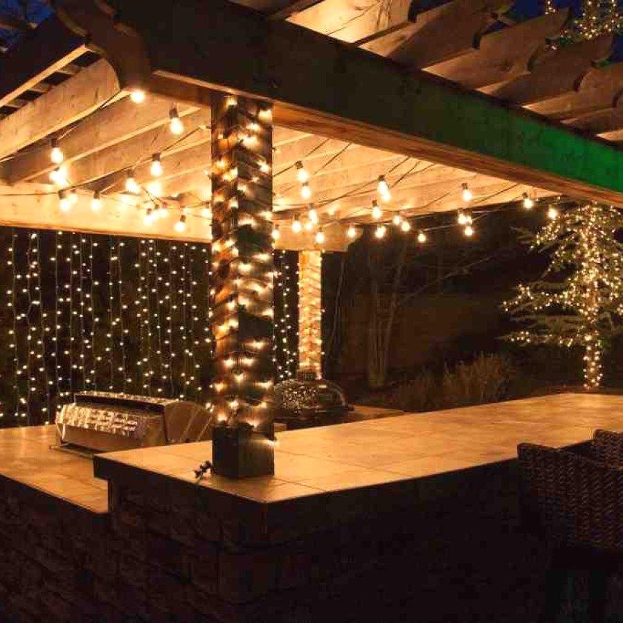 Creative Diy Patio Light Ideas You Can Do For Your Backyard Spaces Diy Outdoor Lighting Outdoor Lighting Design Outdoor Patio Lights