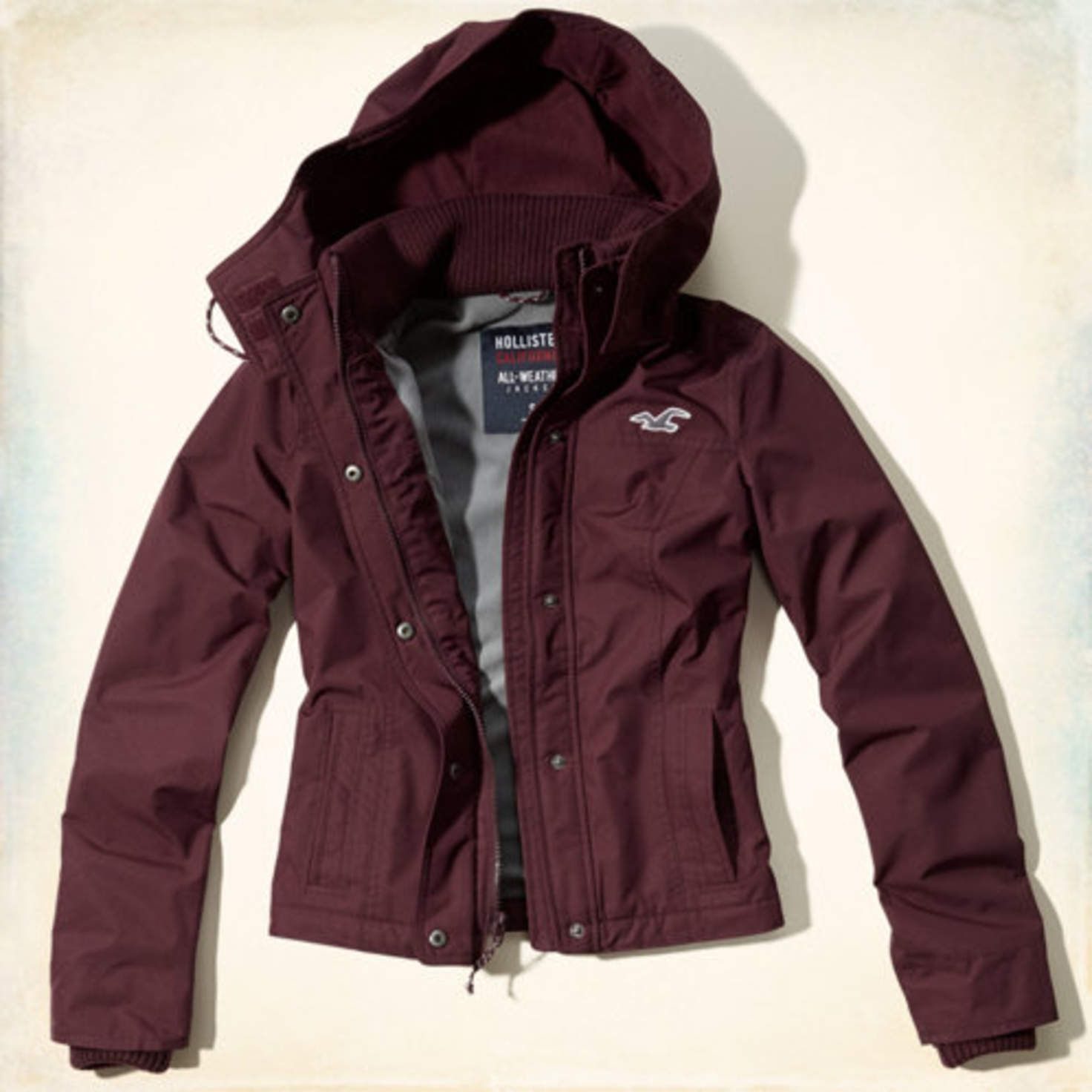 Hollister All The JacketJackeMarken Hollister The Weather wnm8OvN0