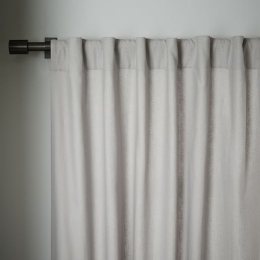 Linen Cotton Curtain Platinum In 2020 Curtains Cotton Curtains Area Rugs For Sale