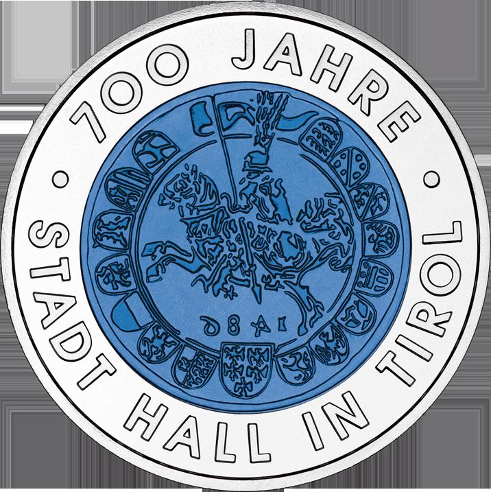 Die Erste 25 Euro Silber Niob Münze Von Münze österreich Niob
