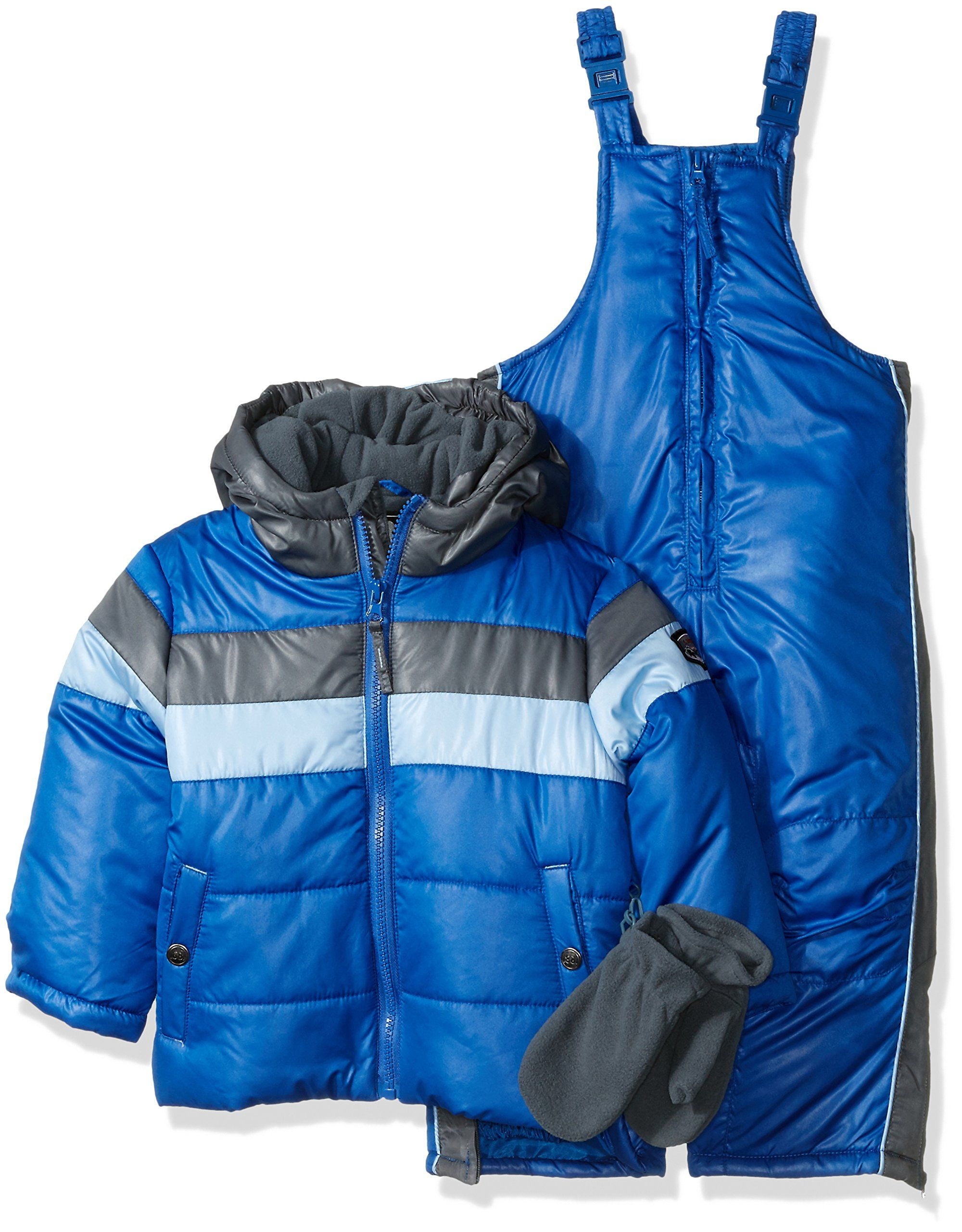 07e94bc5c Rothschild Little Boys  Toddler Stripe Snowsuit