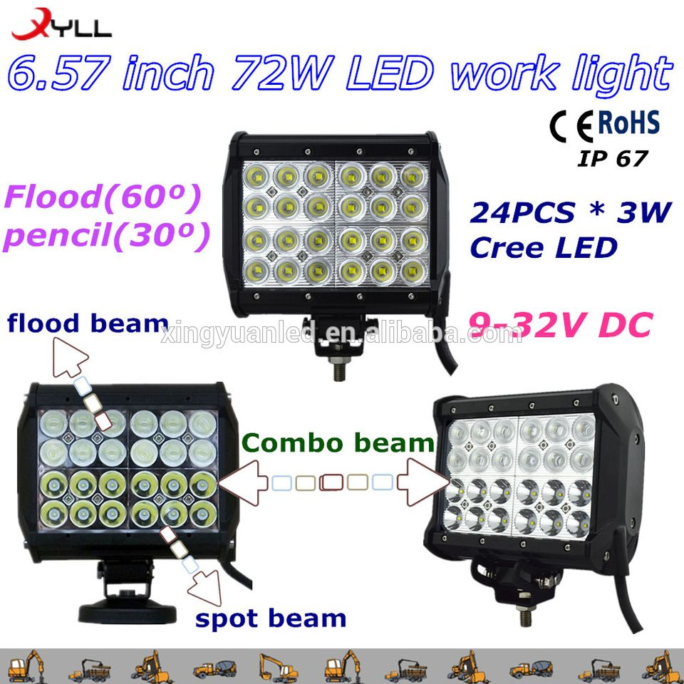 Cheap price 72w led work light bar 4x4 offroad truck led work cheap price 72w led work light bar 4x4 offroad truck led work light semi mozeypictures Image collections