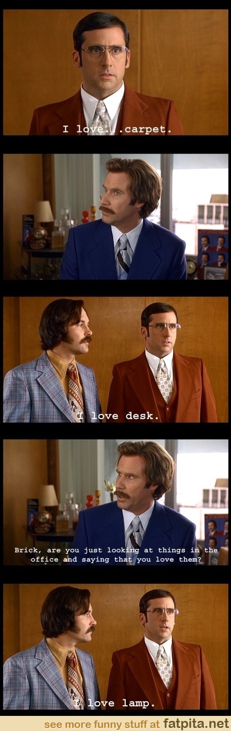 I Love Lamp. By Far, My Favorite Part Of The Movie!