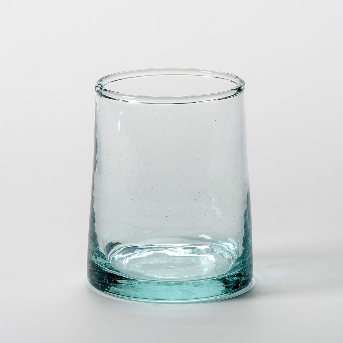Lot de 6 verres à eau en verre Gimani | Verre recyclé