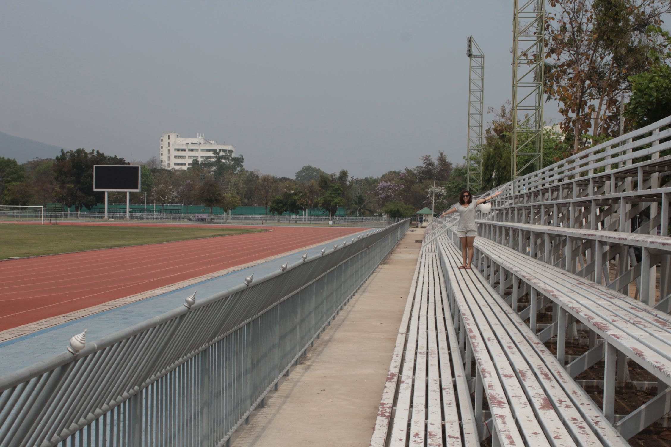 Estadio de futbol y atlestimo de la UCM