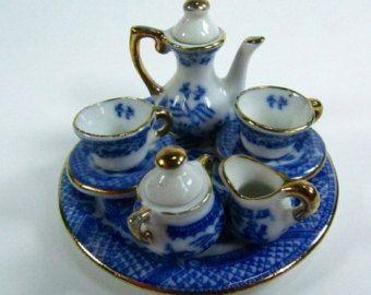Victorian Dolls Tin Tea Set - Google Search