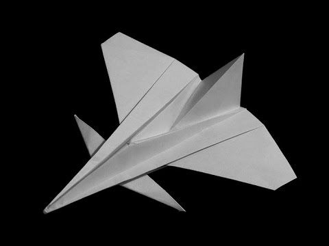 Photo of How To Fold: Paper Airplane #6