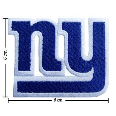 New York Giants Logo I Embroidered Iron Patches by NFL.  1.98. Recommend  for the permanent seal items should be sewn with cloth or source product. 7b1e87a54