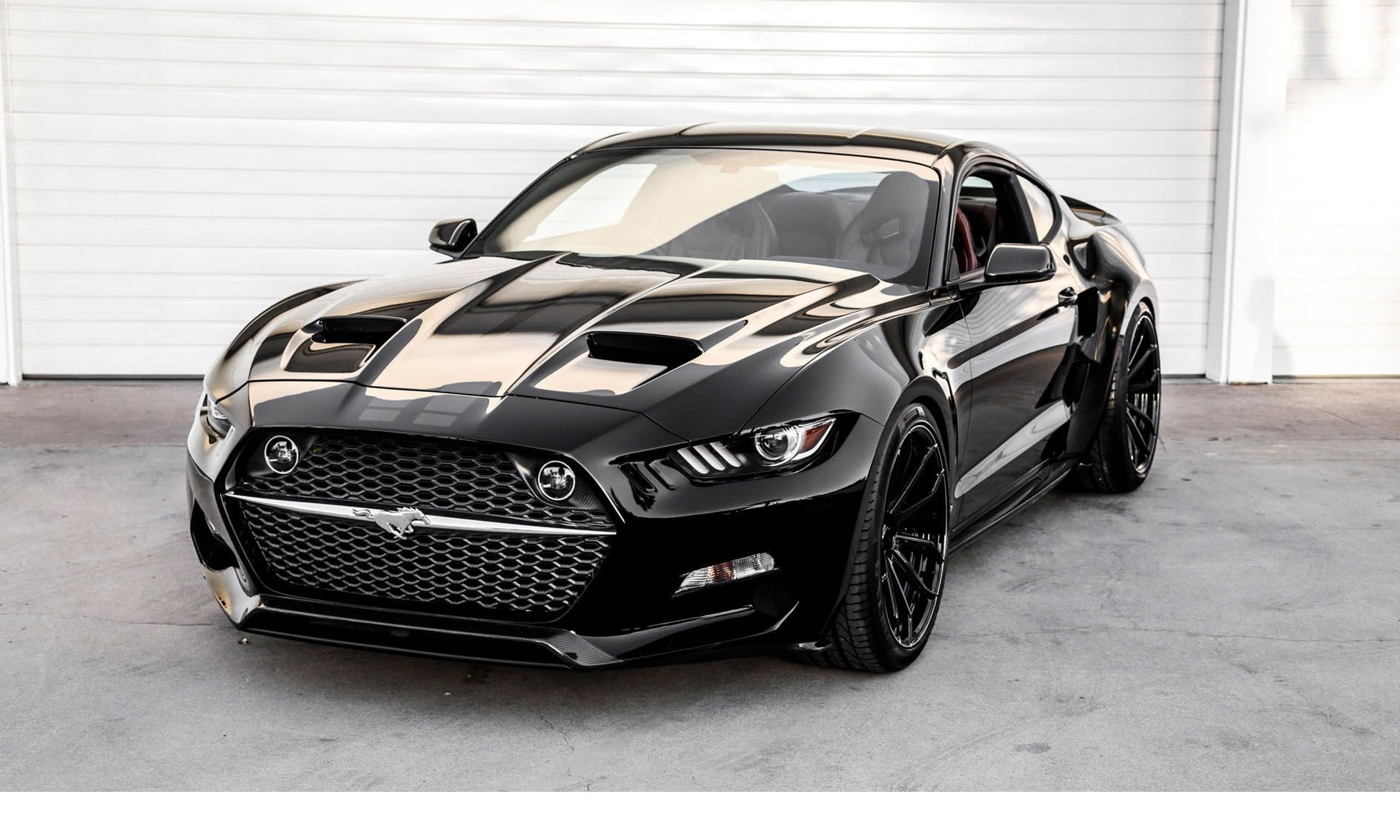 Image result for 2017 mustang black