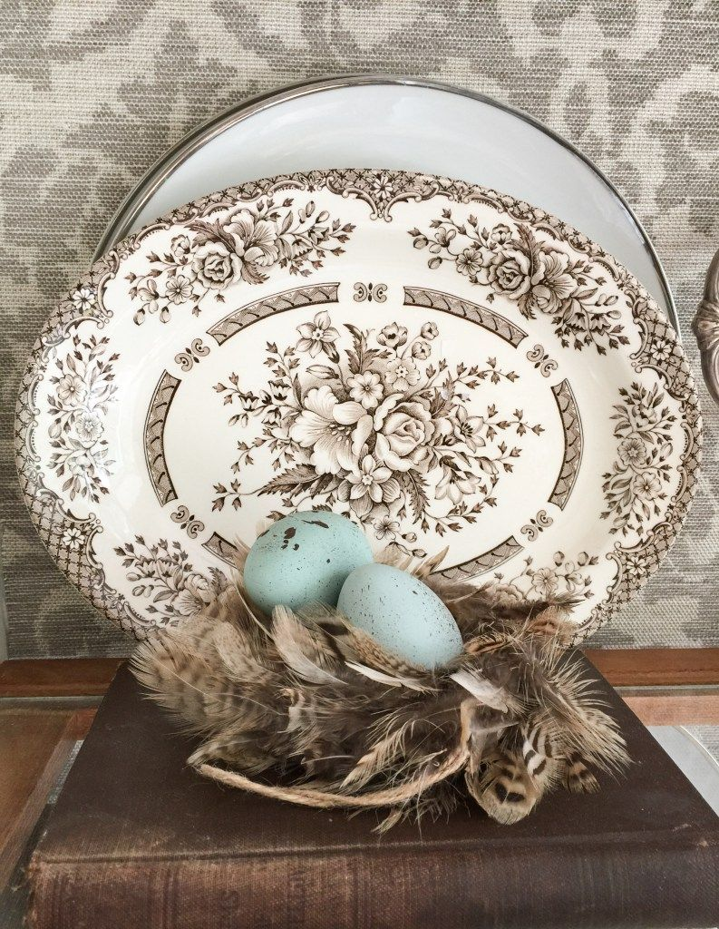 Brown Transferware Should Be Around To Group With My First Love