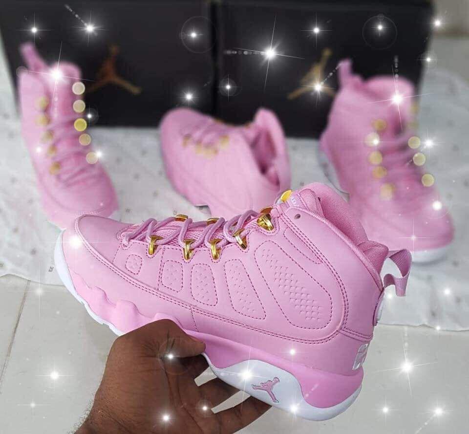 Pink sneakers   Jordan shoes girls